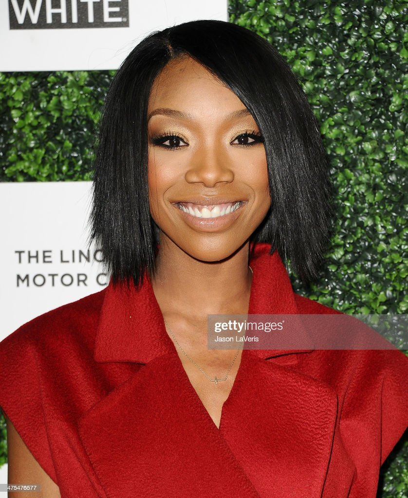 Brandy Norwood attends the 7th annual ESSENCE Black Women In Hollywood luncheon at Beverly Hills Hotel on February 27, 2014 in Beverly Hills, California.