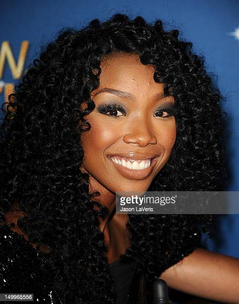 Brandy Norwood attends the MDA Labor Day Telethon at CBS Studios on August 7 2012 in Los Angeles California