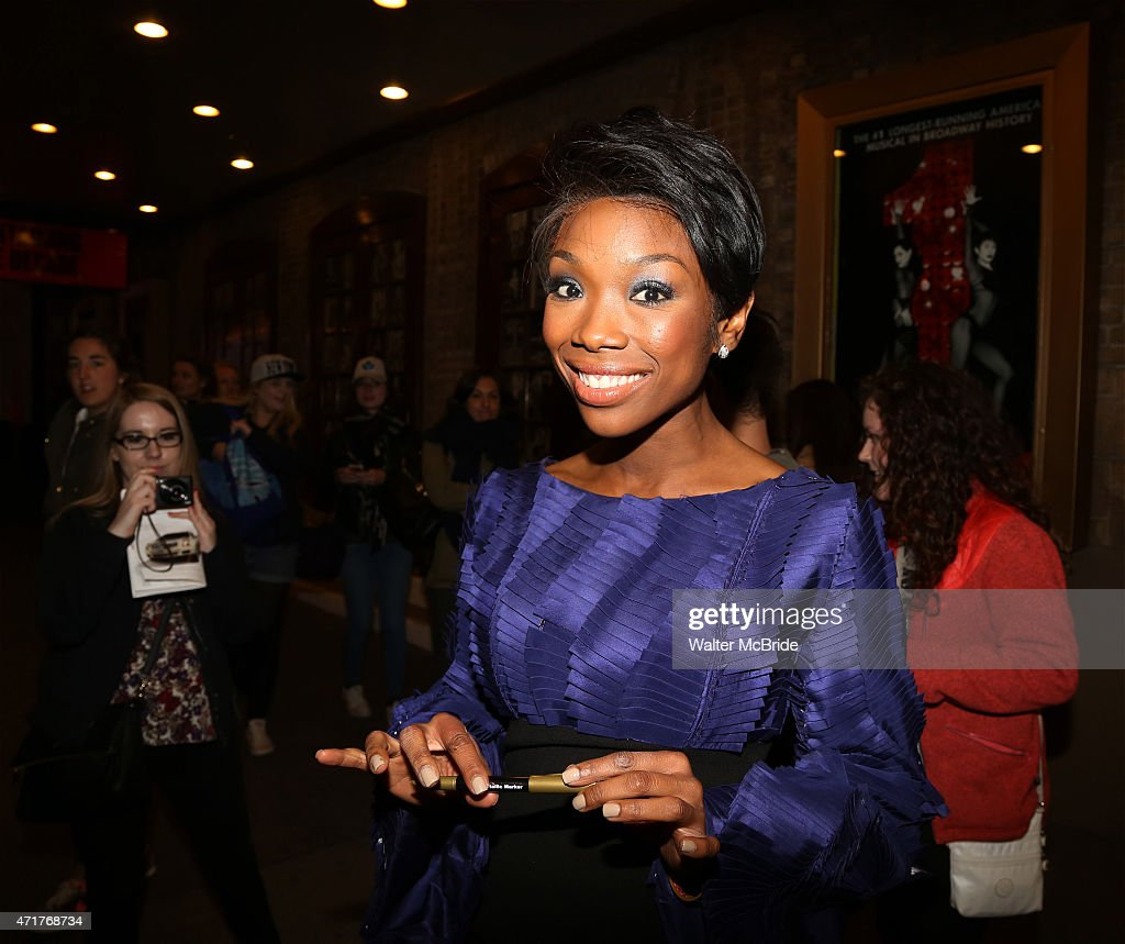"Brandy's Debut Performance On Broadway's ""Chicago"" - After Party"