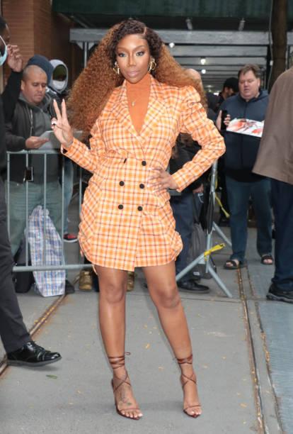 NY: Celebrity Sightings In New York City - October 18, 2021