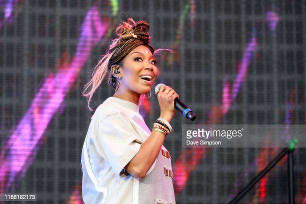 Brandy performs during Friday James Live 2019 at Western Springs Stadium on November 17 2019 in Auckland New Zealand