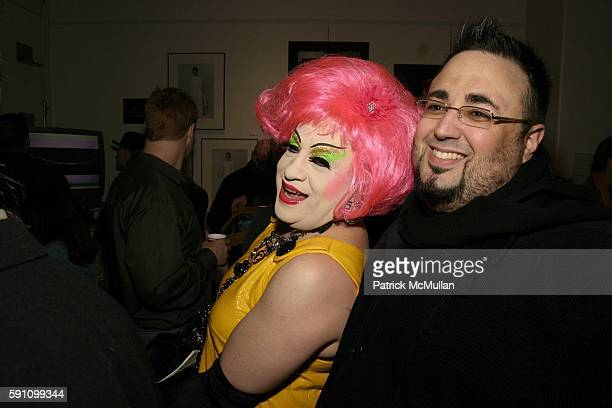 Brandywine and Mauricio MAOPR attend Edie Sedgwick Unseen Photographs of a Warhol Superstar Opening Reception Hosted by Misha Sedgwick at Gallagher's...