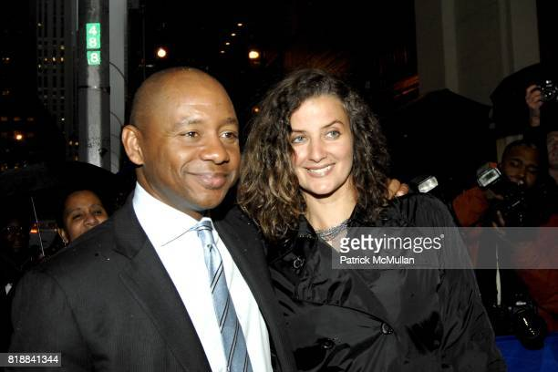 Branford Marsalis and Nicole Marsalis attend Opening Night for the Broadway revival of August Wilson's FENCES at THE CORT THEATRE on April 26 2010 in...