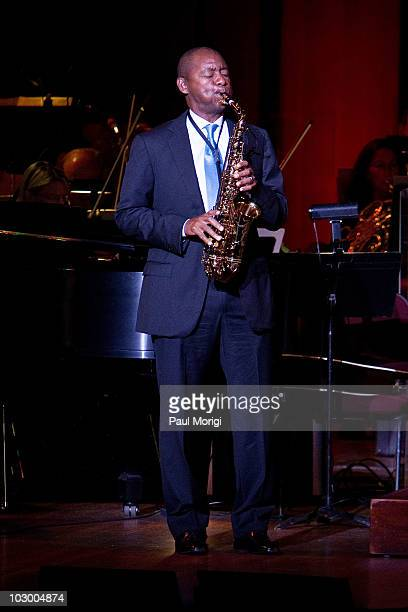 Branford Marsalis performs at An Evening of Classical Works Popular Song at The Kennedy Center on July 20 2010 in Washington DC