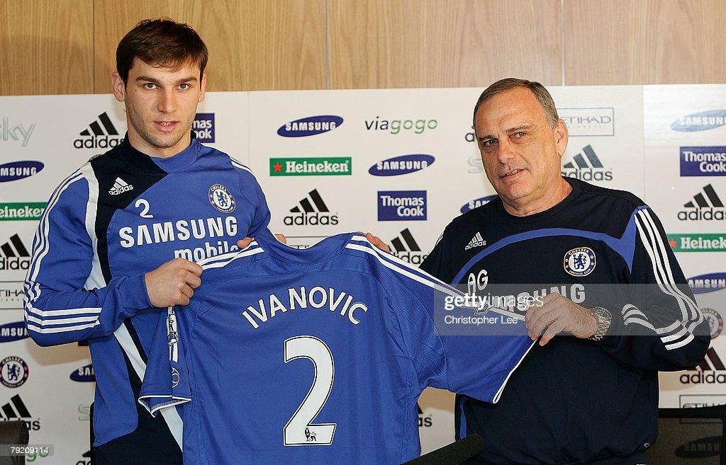 Branislav Ivanovic unveiled as Chelsea Player : News Photo