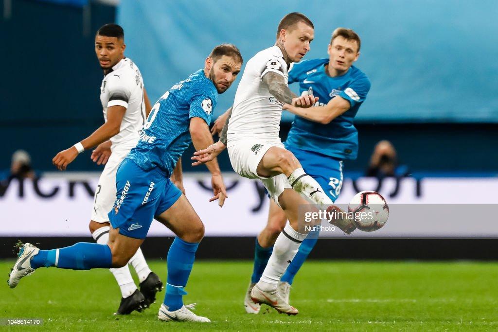 FC Zenit Saint Petersburg vs FC Krasnodar - Russian Premier League : News Photo