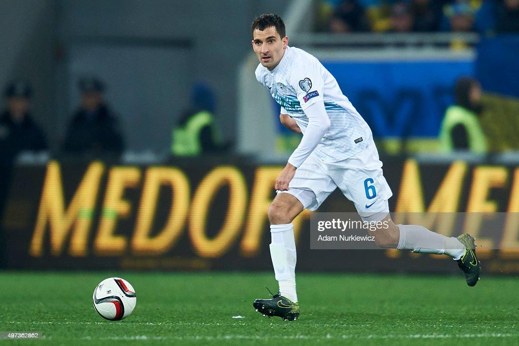 Ukraine v Slovenia - UEFA EURO 2016 Qualifier: Play-Off First Leg : News Photo