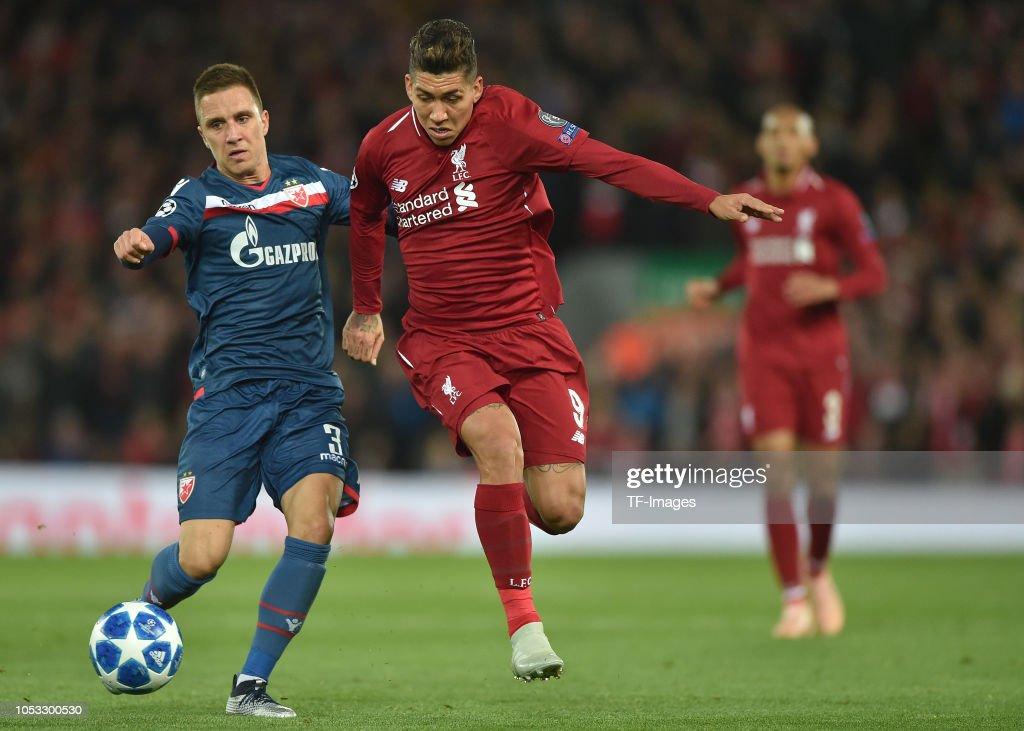 Liverpool v FK Crvena Zvezda - UEFA Champions League Group C : ニュース写真