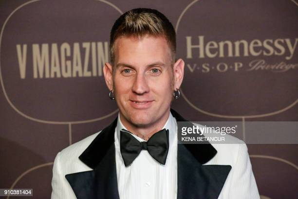 Brann Dailor attends the Warner Music Group's annual Grammy celebration in association with V magazine on January 25 2018 in New York / AFP PHOTO /...
