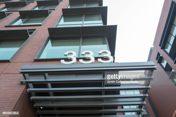 333 Brannan Street headquarters of file management technology company in the South of Market neighborhood of San Francisco California October 13 2017...
