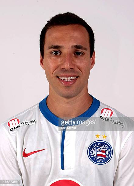 Branquinho of Esporte Clube Bahia poses during a portrait session August 14 2014 in SalvadorBrazil