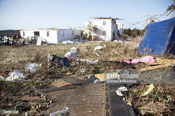 branson missouri destructive tornado aftermath - branson missouri stock pictures, royalty-free photos & images
