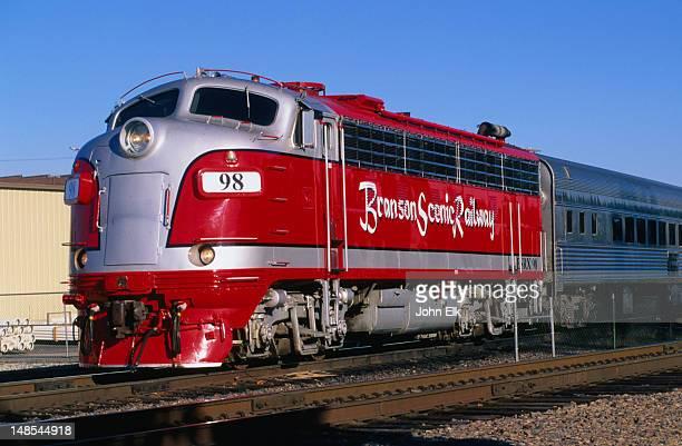 branson scenic railway, the ozarks. - branson missouri stock pictures, royalty-free photos & images