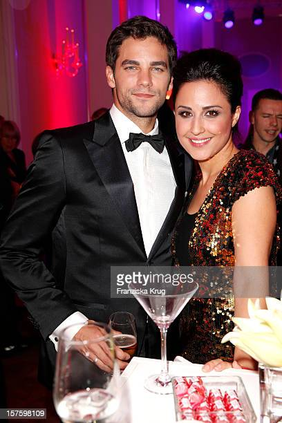 Brant Daugherty and Nina Moghaddam attend the Barbara Tag 2012 on December 04 2012 in Munich Germany
