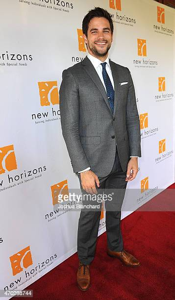 Brant Daugherty arrives at New Horizons 'Havana Nights' 2015 Gala Fundraiser at Los Calamigos Ranch on April 18 2015 in Burbank California