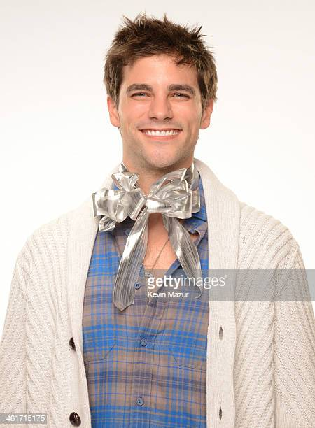 Brant Daugherty poses for a portrait backstage at the Kiss FM's Jingle Ball 2013 at Staples Center on December 6 2013 in Los Angeles California