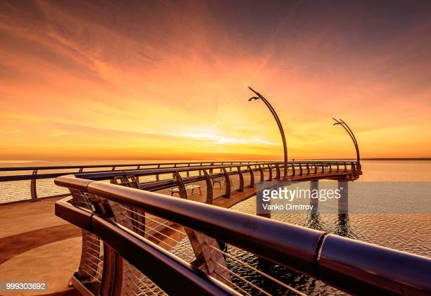 Brant Street Pier Sunrise