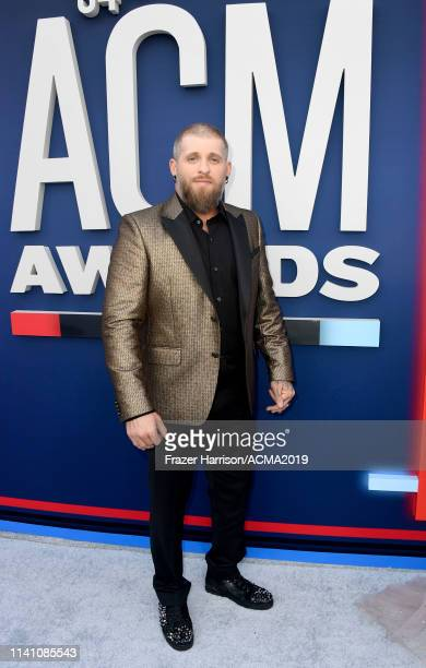 Brantley Gilbert attends the 54th Academy Of Country Music Awards at MGM Grand Hotel Casino on April 07 2019 in Las Vegas Nevada