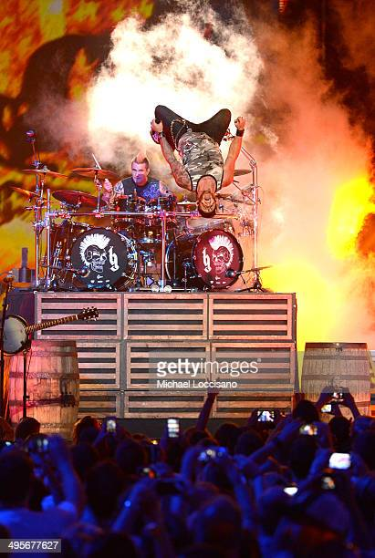 Brantley Gilbert performs onstage at the 2014 CMT Music Awards at Bridgestone Arena on June 4 2014 in Nashville Tennessee