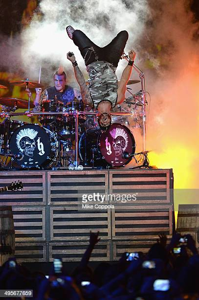 Brantley Gilbert performs onstage during the 2014 CMT Music awards at the Bridgestone Arena on June 4 2014 in Nashville Tennessee