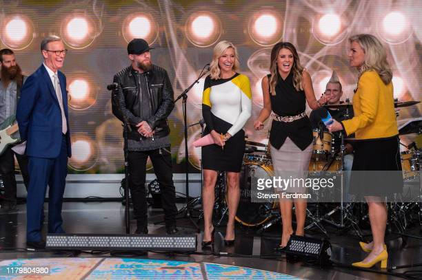 Brantley Gilbert visits Fox Friends at Fox News Channel Studios on October 08 2019 in New York City