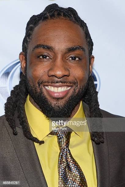 Branton Sherman attends the 2014 Super Bowl Kickoff Players Party at Pranna Restaurant on January 29 2014 in New York City
