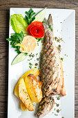 branzino whole grilled sea brim classic