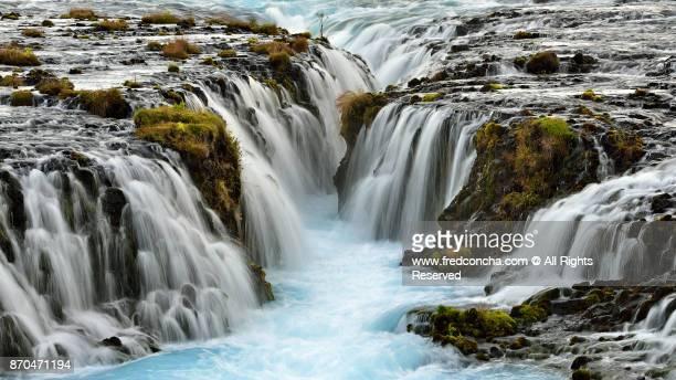 Brúarfoss waterfall in Iceland