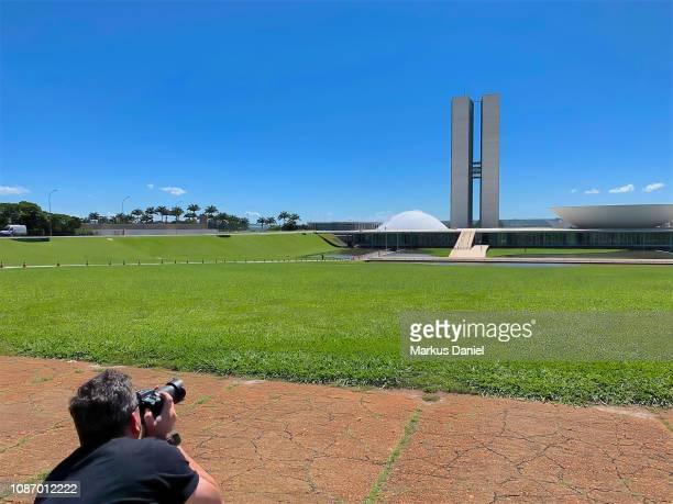 Brasil National Congress (Congresso Nacional) in Brasilia
