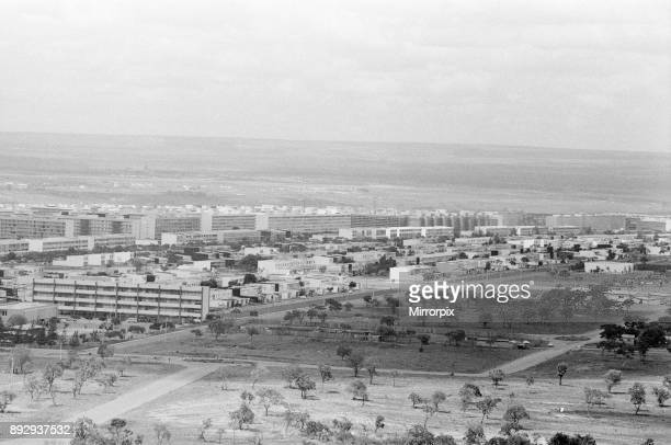 Brasilia planned city that became Brazil's capital in 1960 pictured 1st November 1968