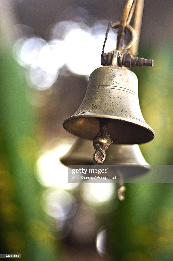 Brass bells : Stock Photo