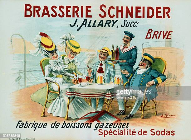 Brasserie Schneider Poster by A Quendray