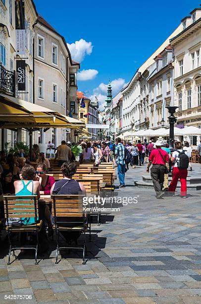 Bratislava Straßenszene