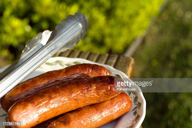 Bratwurst Off the Grill