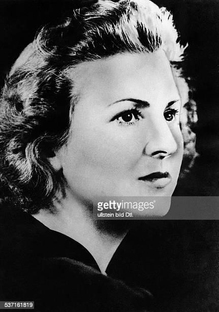 Braun Eva Lebensgefährtin von Adolf Hitler