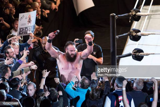 Braun Strowman during the WWE Live Show at Lanxess Arena on November 7 2018 in Cologne Germany