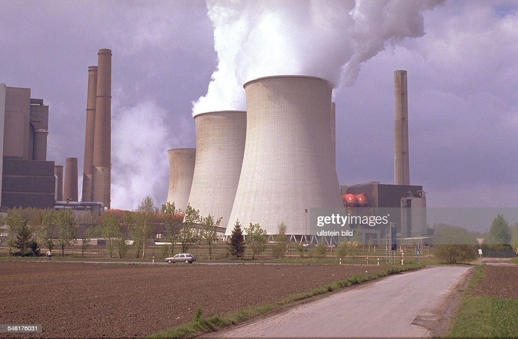 Kohlekraftwerke D 1990-2002 : News Photo