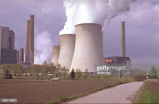 Braunkohlekraftwerk Weisweiler bei Aachen 1999