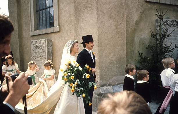 Braut Donata Gräfin zu Castell-Rüdenhausen, Bräutigam Louis Ferd ...