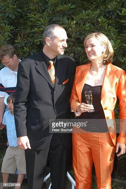 Braut Heike Götz Bräutigam Detlef Lafrentz Hochzeitsfeier Heike Götz und Detlef Lafrentz Empfang Schloßpark Schloß Bergedorf Hamburg Bergedorf nach...