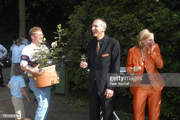 Braut Heike Götz Bräutigam Detlef Lafrentz Hochzeitsgast Hochzeitsfeier Heike Götz und Detlef Lafrentz Empfang Schloßpark Schloß Bergedorf Hamburg...