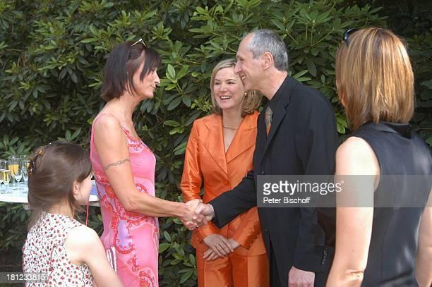 Braut Heike Götz Bräutigam Detlef Lafrentz Hochzeitsgäste Begrüßung der Gäste GratulationsDefilee gratulieren Gratulation zur Hochzeitsfeier Heike...