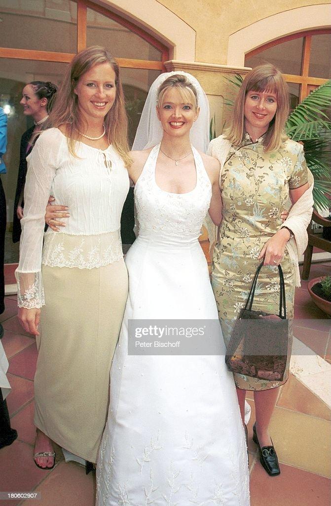 Braut Julia Biedermann, Cousine Claudia Biedermann (re.), Cousin ...