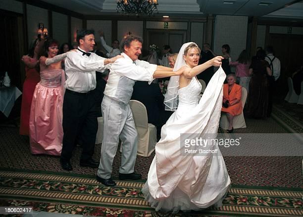 Braut Julia Biedermann, Rüdiger Heims,Trauzeuge Carsten Müller, Hochzeitsgast, Hochzeitsfeier von Julia Biedermann und Mathias Steffens, Hotel...