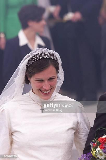 Braut Thyra Kommt An Zur H. Von Hannover T. Von Westernhagen Hochzeit .