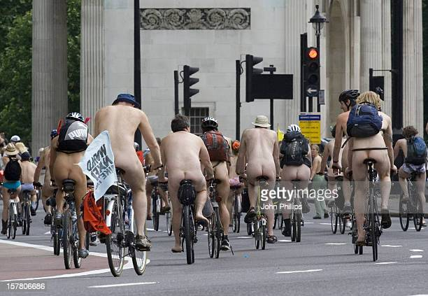 Brave Cyclists Embark On Sixth Annual London Leg Of Bike Ride Raising Awareness Of Cyclists Vulnerability On The Streets And Destructive Effects Of...