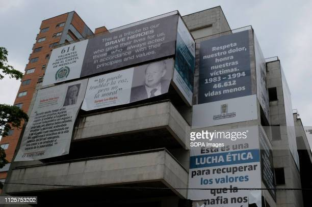 EL POBLADO MEDELLIN ANTIOQUIA COLOMBIA 614 brave murdered by the Medellín Cartel Respect our pain honour our victims 19831994 46612 lives less are...