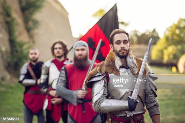 brave soldiers are ready to go to war, sir - imperial system stock photos and pictures