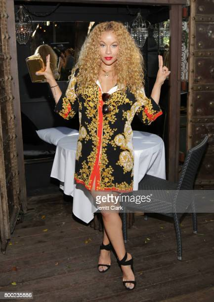 Brave Williams attends Sevyn Streeter and Courtney Adeleye of The Mane Choice Boss Up Brunch at Sur Restaurant on June 23 2017 in Los Angeles...