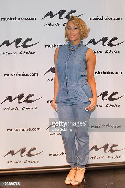Brave Williams of RB Diva's LA attends a taping of Music Choice's Behind The Lines at LB LandryOP Walker High School Auditorium on July 3 2015 in New...